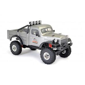FTX 1:18 Outback Mini X Texan RTR RC Rock Crawler Jeep Truck - Grey