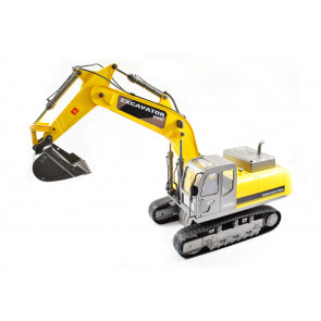 Large Scale RC Caterpillar Excavator, Upgraded Premium Label Version - Hobby Engine