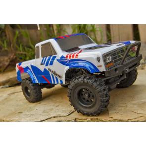 Element RC Enduro 24 Sendero - RTR 4x4 Model Rock Crawler Truck - Blue/Red