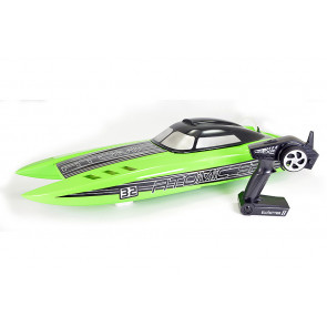 Volantex Atomic SR85 ARTR (No Batt/Chgr) Brushless RC Racing Power Boat - Green
