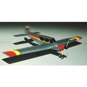 Gem 80 RC Model Plane Balsa & Ply Kit, Quick Build - Ideal Low Wing Aerobatic Trainer