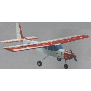 Ginca RC Model Plane Kit, Quick Build with Pre-Built Fuselage - Ideal Trainer