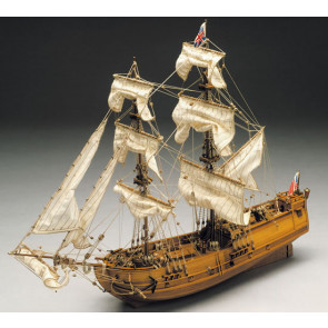 Mantua Golden Star English Brig Wood Ship Kit (769) Scale 1:150