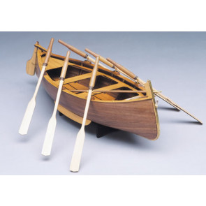 Mantua Gozzo Ligure Italian Fishing Boat Kit (735) Scale 1:12