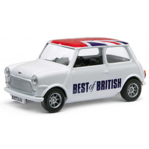 Classic Mini with Union Flag Roof - Corgi Best of British Diecast Car GS82298