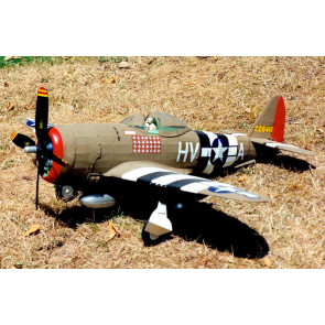 Republic P-47D Thunderbolt Large Scale 1:16 Guillow's Balsa Aircraft Kit 768mm Wingspan