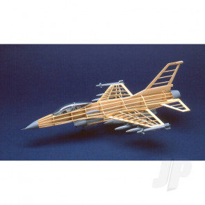 Guillow General Dynamics F-16 Fighting Falcon Static Balsa Model Aircraft Kit
