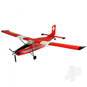 Guillow Pilatus PC6 Porter (Laser Cut) Balsa Model Aircraft Kit