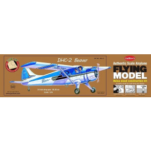 DHC-2 Beaver Flying Model Balsa Aircraft Kit 610mm Wingspan from Guillow's