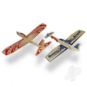Guillow Super Hero Twin Pack Balsa Model Aircraft Kit