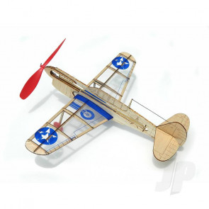 Guillow U.S. Curtiss P-40 Warhawk Balsa Model Aircraft Kit