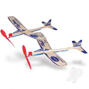 Guillow Sky Streak Twin Pack Balsa Model Aircraft Kit