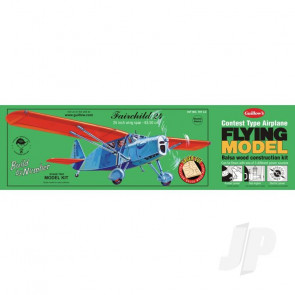 Guillow Fairchild 24 (Laser Cut) Balsa Model Aircraft Kit