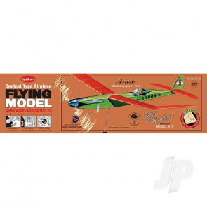Guillow Arrow (Laser Cut) Balsa Model Aircraft Kit