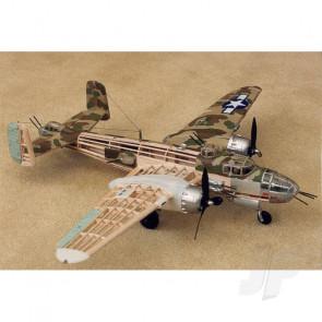 Guillow North American B-25 Mitchell Balsa Model Aircraft Kit