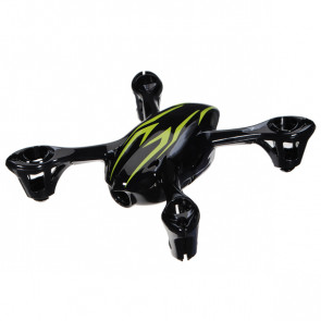 Hubsan X4 Camera Quadcopter Spare Bodyshell Black/Green H107-A22