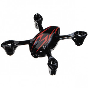Hubsan X4 Camera Quadcopter Spare Bodyshell Black/Red H107-A26