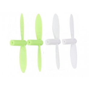 Hubsan Q4 or Twister Neon-X Quadcopter Propellers Rotor Blades Set of 4