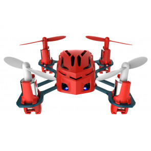 Hubsan Q4 Nano Quad Copter with LED Lights - Red Edition