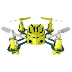 Hubsan Q4 Nano Quad Copter with LED Lights - Yellow Edition