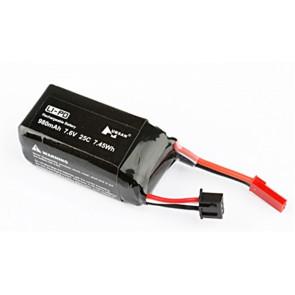 7.6V 980mAH 25C LiPo Battery for Hubsan H123 X4 Jet Racing Drone