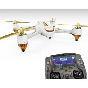 Hubsan 501S X4 FPV Quadcopter Drone White, GPS RTH, Follow Me, Headless, 1080P Camera