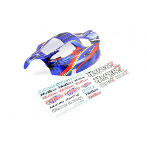 Hobao Hyper 7 TQ Sport New Blue Printed Body Shell and Decals