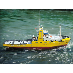 Happy Hunter Salvage Tug Boat with Fittings 1:50 Krick Robbe RC Model Kit
