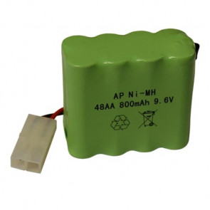 Hobby Engine 9.6V Rechargeable Battery Pack for Boats