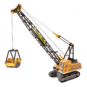Large 1:12 Scale 10 Function Radio Control Crawler Crane - Hobby Engine