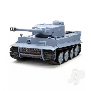 Henglong 1:16 German Tiger I RC Tank with IR Battle System - Shoots Plastic BB's with Smoke and Sound