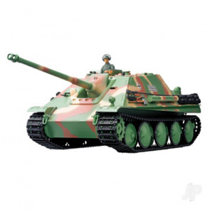 Henglong 1:16 German Jagdpanther with Infrared Battle System (2.4GHz + Shooter + Smoke + Sound)