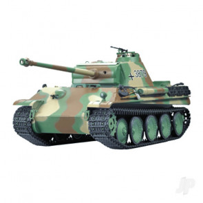 Henglong 1:16 German Panther Type G with Infrared Battle System (2.4GHz + Shooter + Smoke + Sound)