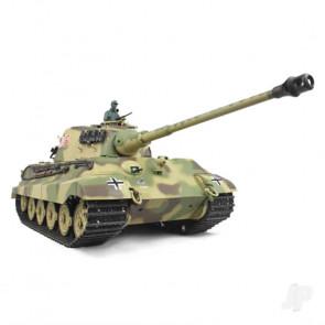 Henglong 1:16 German King Tiger Henschel with Infrared Battle System (2.4GHz + Shooter + Smoke + Sound)