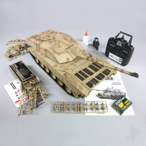Henglong 1:16 US British Challenger 2 with Infrared Battle System (2.4GHz + Shooter + Smoke + Sound)