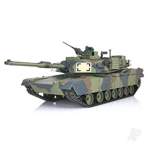 Henglong 1:16 US M1A2 Abrams with Infrared Battle System (2.4GHz + Shooter + Smoke + Sound)