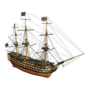 Mantua H.M.S. Victory Wooden Ship Kit Scale 1:200 - Lord Nelson's Flagship