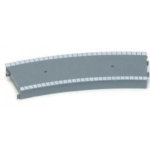 Hornby Accessories R462 Large Radius Curved Platform Section - 00 Gauge Trains