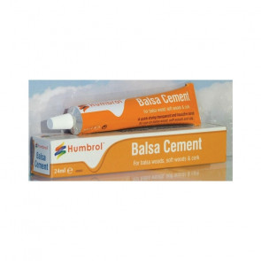 Humbrol Balsa Cement Glue 24ml Tube for Plastic Model Kits