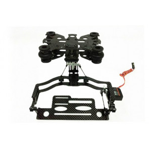IFLY4S Quadcopter Double Axis Camera Mount with Servos for Aerial Photography/Video