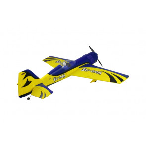 Dynam Sukhoi SU-26M Electric ARTF 1.2m Blue/Yellow PNP no Tx/Rx/Bat/Chg