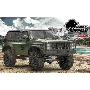 GMADE 1/10 GS02F Buffalo (Military) TS K5 Blazer RC Rock Crawler Kit
