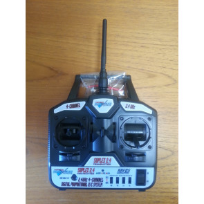 Topgun Park Flite Suplex | 4 Channel Transmitter & 6 Channel Receiver Combo | Mode 1 | 2.4Ghz