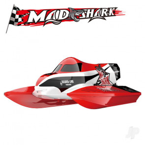 Joysway Mad Shark Brushless 2.4GHz RTR RC Racing Boat (Red)