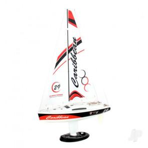 Joysway Caribbean Yacht 2.4GHz RTR, Red