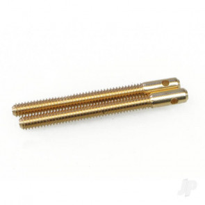 JP M2 Closed Loop Connector Brass (2pcs) For RC Model Plane
