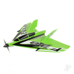 F-38 Delta Racer PNP Green (800mm) no Tx/Rx/Batt RC Model Aeroplane