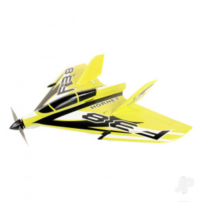 F-38 Delta Racer PNP Yellow (800mm) no Tx/Rx/Batt RC Model Aeroplane