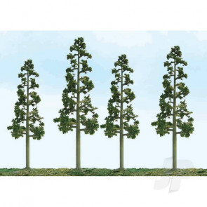 "JTT 92113 Scenic Juniper, 5.5"" to 6.5"", HO-Scale, (3 pack) Trees For Scenic Diorama Model Trains"