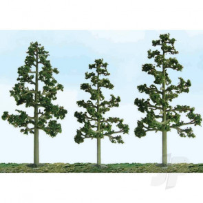"JTT 92115 Scenic Lodgepole Pine, 5.5""-6"", HO-Scale, (2 pack) Trees For Scenic Diorama Model Trains"